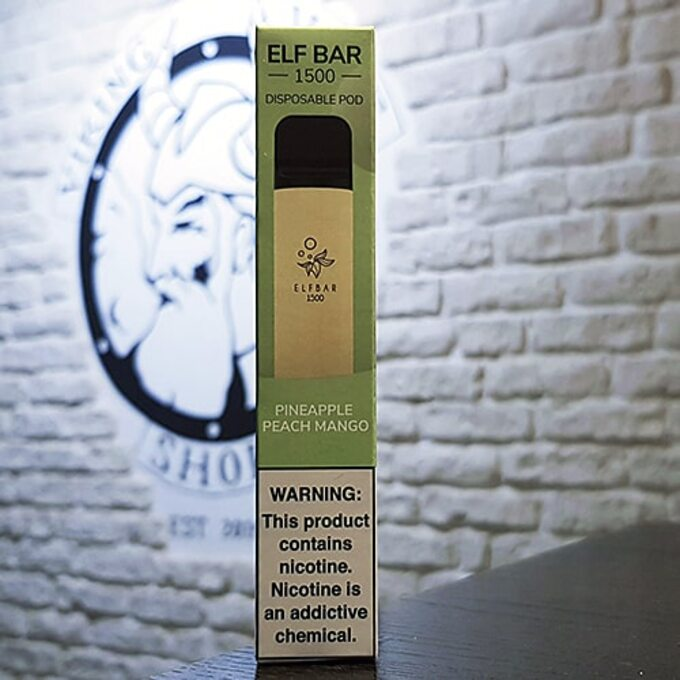 Одноразовый парогенератор Elf Bar 850mAh - Ананас, Персик, Манго