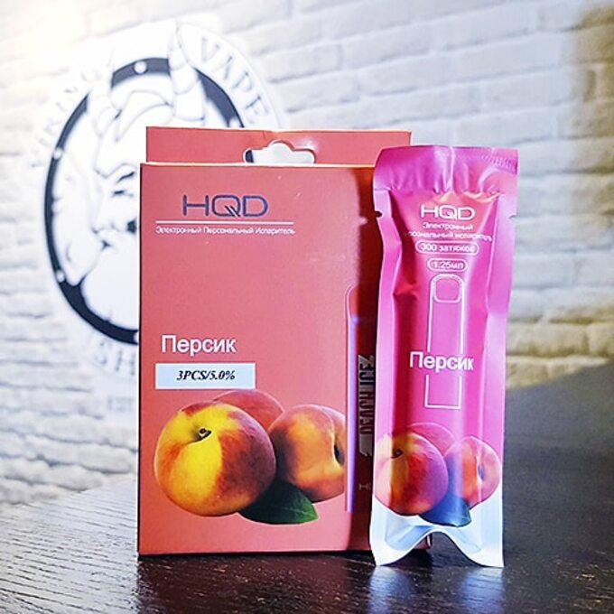 Одноразовый электронный парогенератор HQD Cuvie Peach.