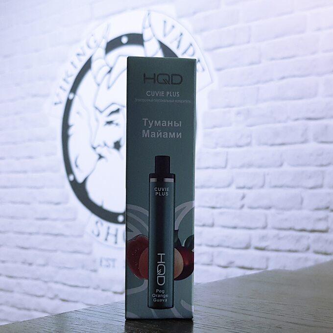 Одноразовая электронная сигарета HQD Cuvie Plus 1200 затяжек Туманы Майами
