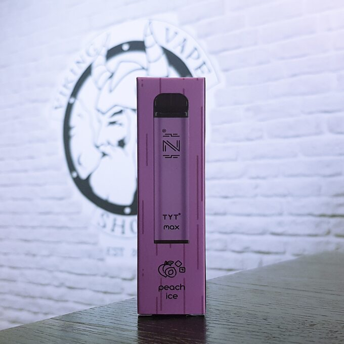 Одноразовая электронная сигарета HQD IZI Max 1600 затяжек Ледяной персик