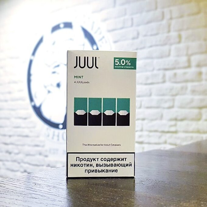 Cменный картридж JUUL Mint