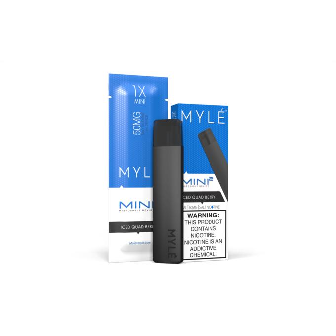 Одноразовый электронный парогенератор MYLE Mini 2 Ягодный Микс Ice