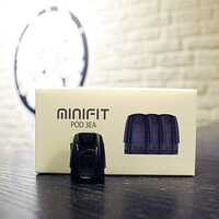 Картридж Justfog Minifit 1,5 мл, черный